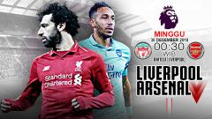 Indosport - Pertandingan Liverpool vs Arsenal.
