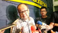 Indosport - Asep Edwin Ketua Komdis PSSI.