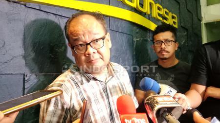 Asep Edwin Ketua Komdis PSSI. - INDOSPORT