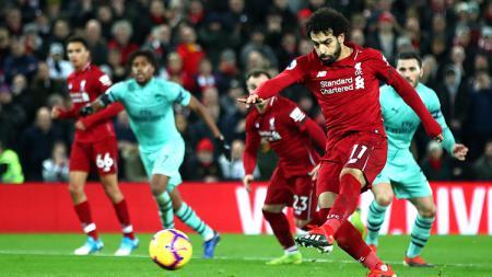 Liverpool akan menjamu Arsenal pada pekan ketiga Liga Inggris 2019/20 di Anfield, Sabtu (24/08/19). - INDOSPORT