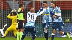 Indosport - Klub Serie A Liga Italia, AS Roma bakal menemui hambatan dari Inter Milan dalam upayanya merekrut striker SPAL, Andrea Petagna.
