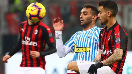 Hitung-hitungan AC Milan lolos ke Liga Champions 2019/20 saat menghadapi SPAL pada giornata 38. - INDOSPORT