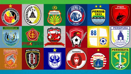Logo Klub Liga 1 2019 - INDOSPORT