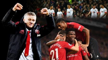 Manchester United menang 4-1 melawan Bournemouth - INDOSPORT