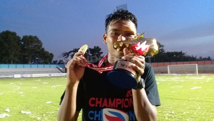 Top Scorer Liga 3 Septian Satria Bagaskara Copyright: Ronald Seger Prabowo/INDOSPORT