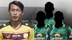 Indosport - Tiga pemain bertahan Persebaya yang akan tergusur jika Hansamu datang