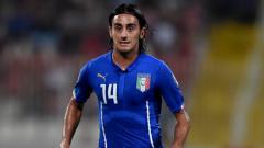 Indosport - Alberto Aquilani, saat berseragam Timnas Italia.