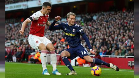 Arsenal vs Fulham. - INDOSPORT