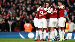 Indosport - Arsenal vs Fulham