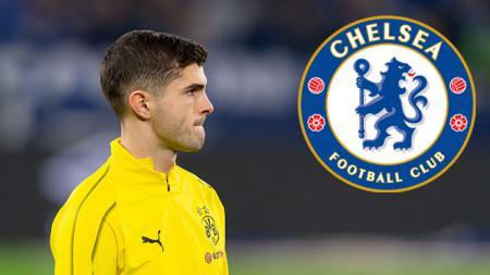 Christian Pulisic resmi ke Chelsea. - INDOSPORT