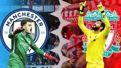 Indosport - Perbandingan Ederson Moraes vs Alisson Becker