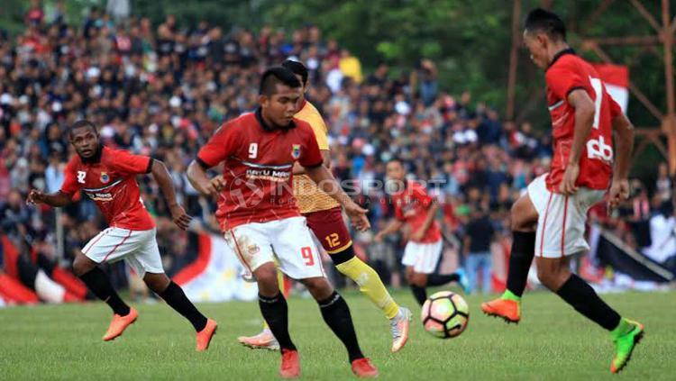 Persibat Batang antusias hadapi Persija Jakarta di Piala Indonesia. Copyright: Ronald Seger/Indosport.com