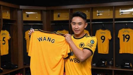 Rekrutan anyar Wolverhampton Wanderers, David Wang. - INDOSPORT