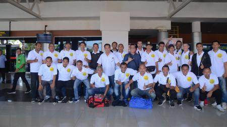 Timnas All Star Diarak Keliling Palembang. - INDOSPORT