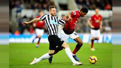 Indosport - Newcastle United vs Manchester United