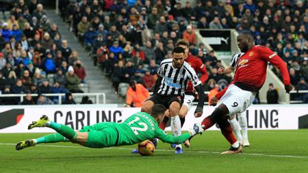 Newcastle United vs Manchester United - INDOSPORT