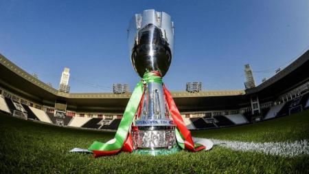 Trofi Piala Super Italia - INDOSPORT