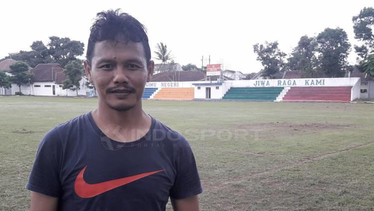 Wasit Liga 1 asal Malang, Iwan Sukoco Copyright: Ian Setiawan/INDOSPORT