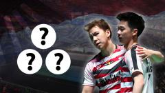 Indosport - 4 Turnamen yang Wajib Ditaklukkan Kevin/Marcus di 2019.