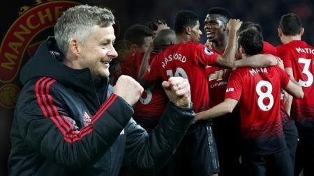 Ole Gunnar Solskjaer memberikan dampak positif untuk Manchester United. - INDOSPORT