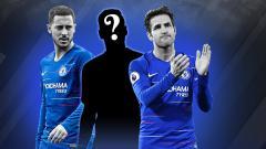Indosport - 3 Pemain Chelsea yang bisa jadi korban atas kedatangan Christian Pulisic.