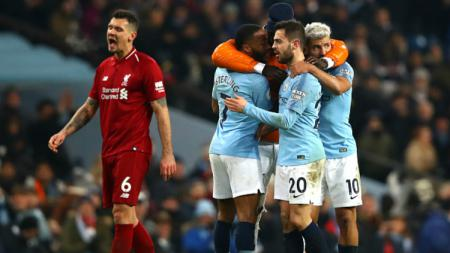Manchester City vs Liverpool - INDOSPORT