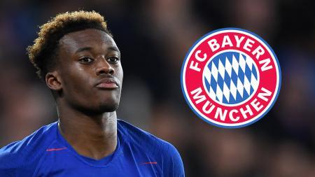 Klub Liga Inggris, Chelsea, kini bisa terus menikmati jasa Callum Hudson-Odoi yang sebelumnya diminati Bayern Munchen. - INDOSPORT