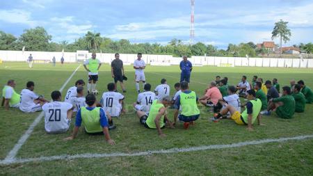 Timnas All Star lakukan latihan jelang Alex Noerdin Cup. - INDOSPORT
