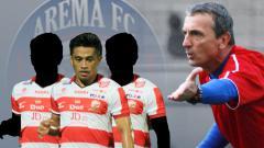 Indosport - Tiga pemain Madura yang siap dibawa Milomir Bila Pindah ke Arema FC diantaranya Beny Wahyudi