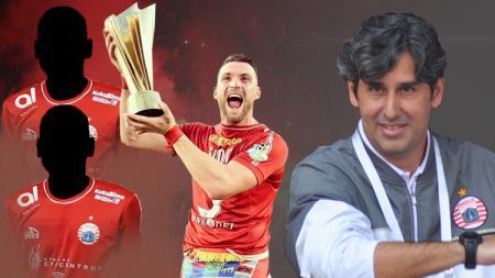 Tiga pemain Persija Jakarta yang bersinar di bawah asuhan Teco - INDOSPORT