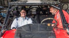 Indosport - Penderita Down Syndrome pertama yang mengikuti ajang Reli Dakar
