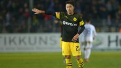 Indosport - Shinji Kagawa di Borussia Dortmund.