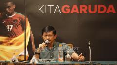 Indosport - Jumpa Pers PSSI dan Indra Sjafri Terkait Timnas U-22.