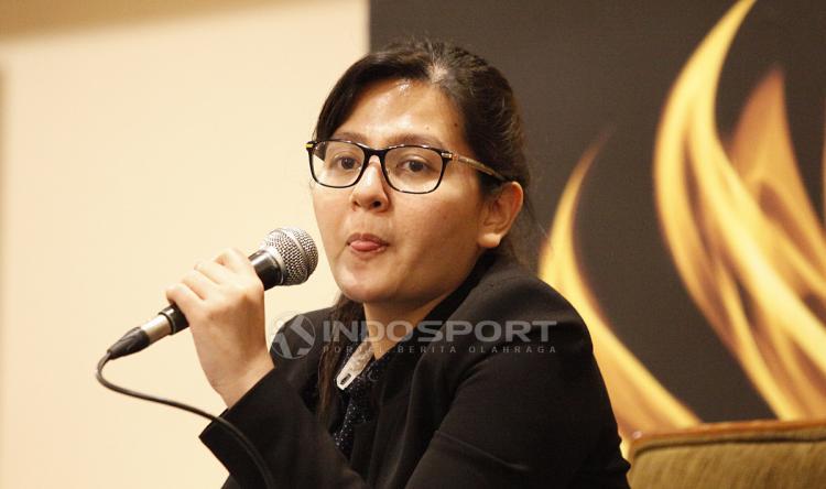 Jumpa Pers PSSI dan Indra Sjafri Terkait Timnas U-22. Copyright: Herry Ibrahim/Indosport.com