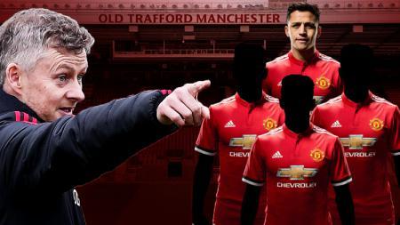 Minim kontribusi di Man United, empat pemain ini layak 'Ditendang' Solskjaer dari Old Trafford - INDOSPORT