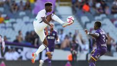 Indosport - Aurelien Tchouameni, pemain AS Monaco sekaligus andalan timnas Prancis U-21.