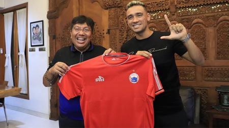 Bruno Matos Bahia resmi bergabung dengan Persija Jakarta. - INDOSPORT