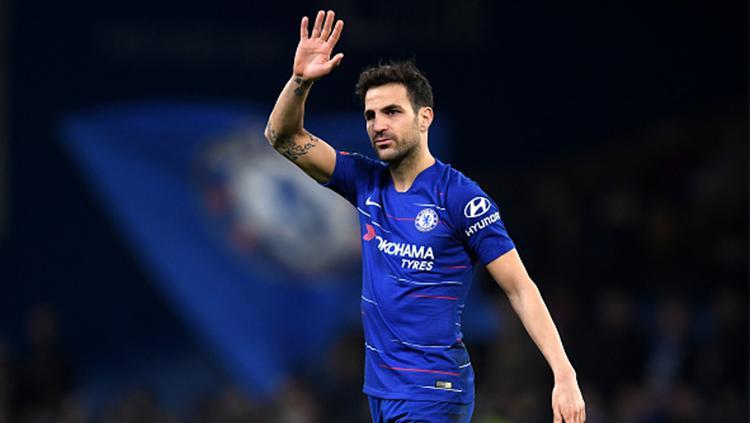 Fabregas ucap salam perpisahan kepada seluruh pendukung Chelsea Copyright: Getty Images
