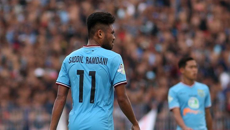 Saddil Ramdani dipasikan tidak berkarir di Persela pada musim 2019 Copyright: Abdul Rozak/perselafootball.com