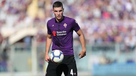 Nikola Milenkovic bek klub Fiorentina - INDOSPORT