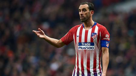 Kapten Atletico Madrid, Diego Godin - INDOSPORT