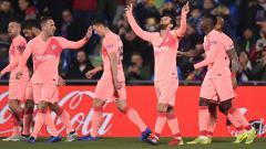 Indosport - Getafe vs Barcelona