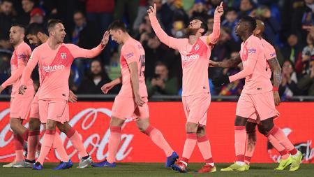 Getafe vs Barcelona - INDOSPORT