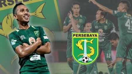Bintang muda Persebaya, Irfan Jaya. - INDOSPORT