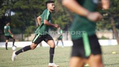 Indosport - Pemain Timnas U-22, Rifal Lastori (PSS Sleman)