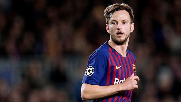 Playmaker Barcelona, Ivan Rakitic. Copyright: INDOSPORT