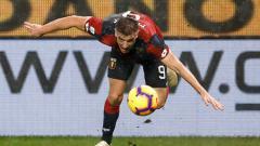 Indosport - Krzsyztov Piatek, striker Genoa.