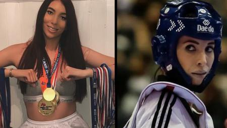 Jade Slavin, model dan atlet taekwondo ini pernah dibully - INDOSPORT