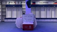 Indosport - Philippines merapikan ruang ganti di Dubai