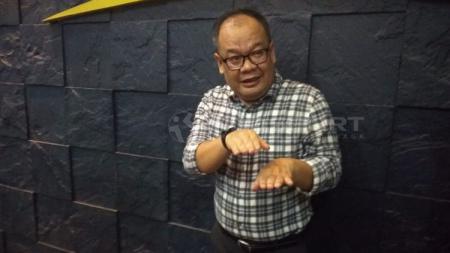 Ketua Komdis PSSI, Asep Edwin. - INDOSPORT